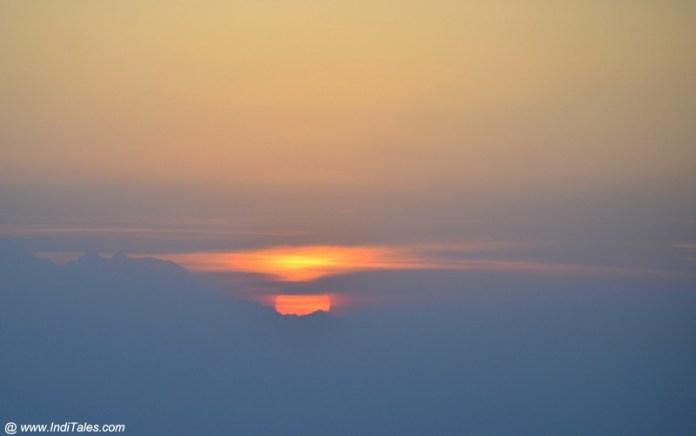 बिनसर सूर्योदय