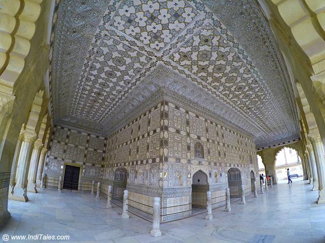 शीश महल - आमेर किला जयपुर