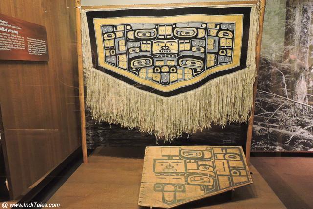 धार्मिक अनुष्ठानों के लिए बुनी हुई चादर