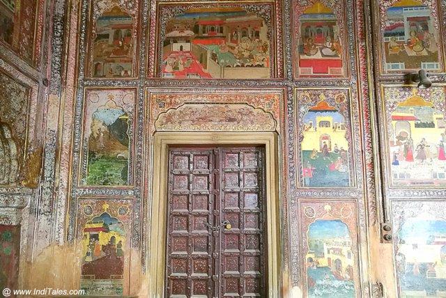 किला मुबारक का चित्रित कक्ष - पटियाला