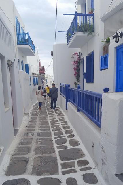 मिकोनोस द्वीप के मनभावन पथ