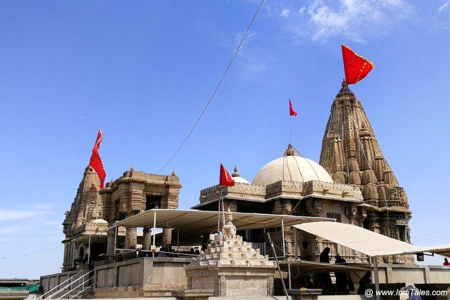 द्वारका का रुक्मिणी मंदिर