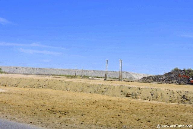 Salt mountains in mithapur