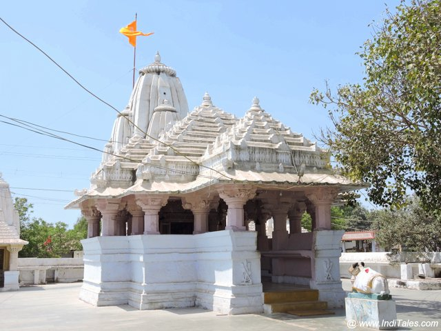 The original temple complex of Dwarka