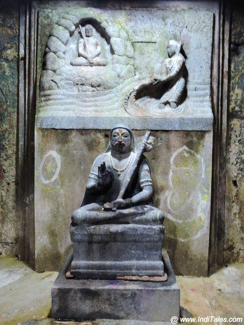 शंकराचार्य प्रतिमा - ओम्कारेश्वर