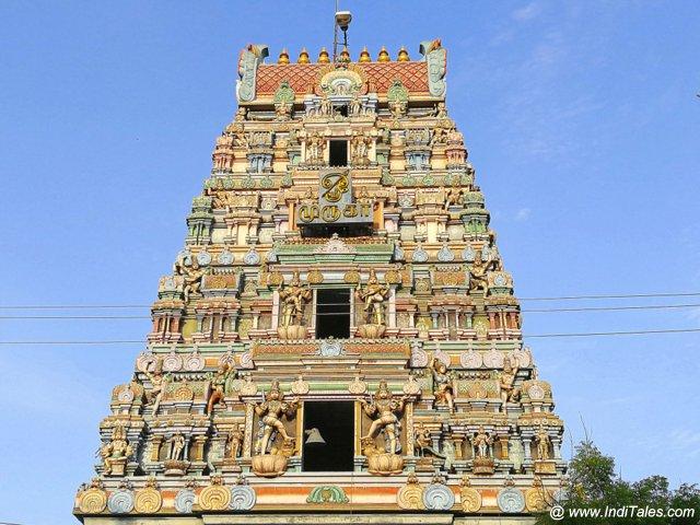 कुमार कोट्टम मंदिर का गोपुर - कांचीपुरम