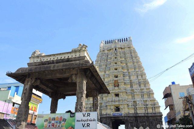एकम्बरेश्वर मंदिर राज गोपुरम