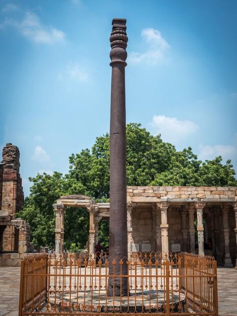नई दिल्ली स्थित प्राचीन लौह स्तम्भ