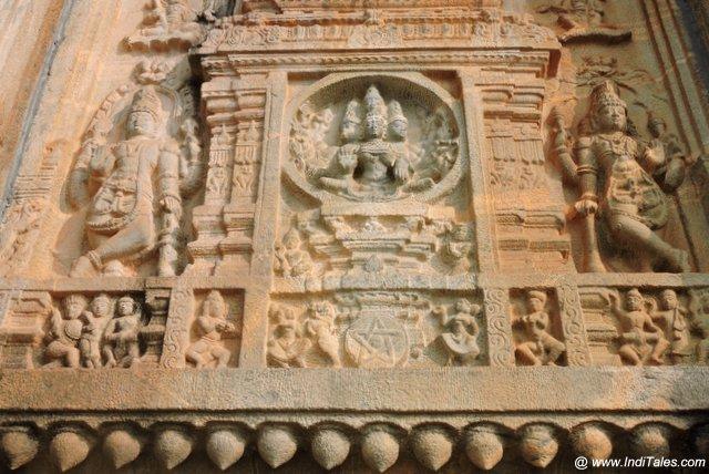 श्रृंगेरी विद्याशंकर मंदिर की कथाएं कहती दीवारें