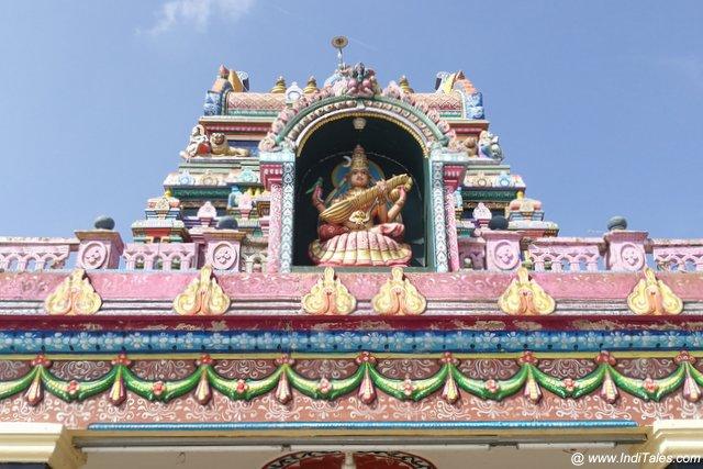श्रृंगेरी शारदाम्बा मंदिर का शिखर