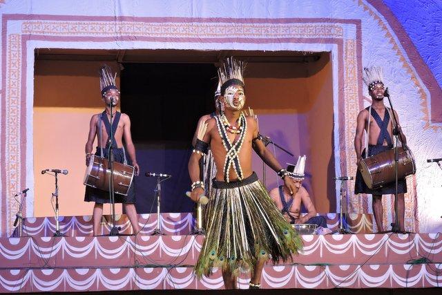 भारतीय लोक संस्कृति का प्रदर्शन - लोकोत्सव गोवा