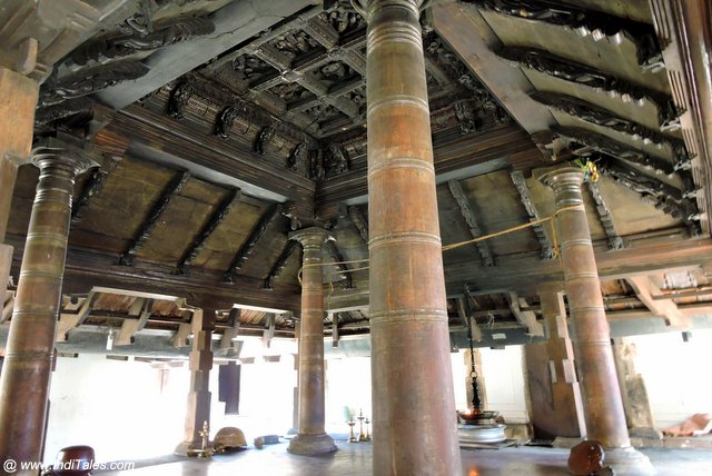 केरल के मंदिरों के काष्ठ मंडप