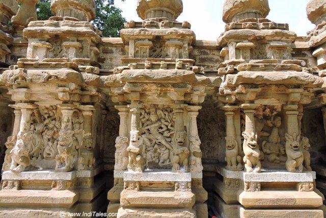 चिंतन कक्ष - कैलाशनाथ मंदिर कांचीपुरम