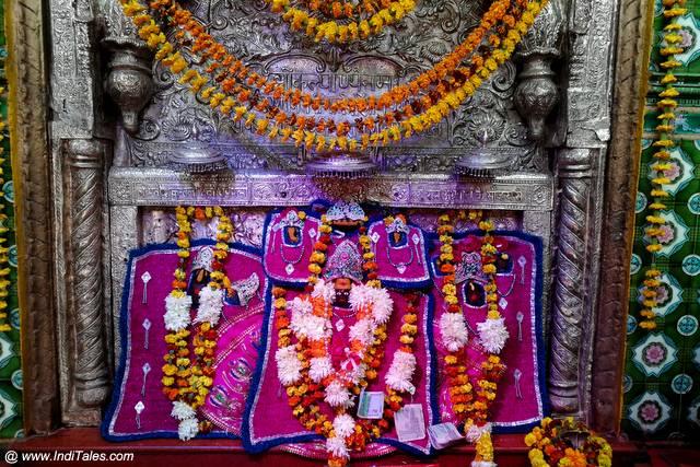 श्री ललिता कल्याणी विग्रह - प्रयाग्रक के प्राचीन मंदिर