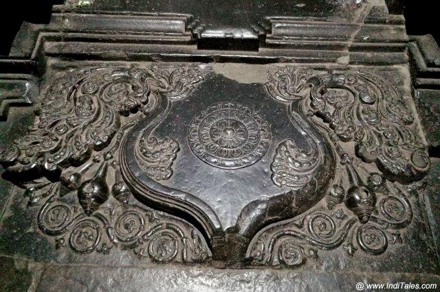 चंद्रशिला - कोपेह्स्वर महादेव मंदिर गर्भगृह