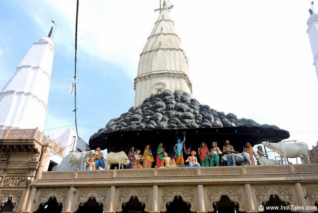 ब्रज भूमि के गोवर्धन का दान घाटी मंदिर