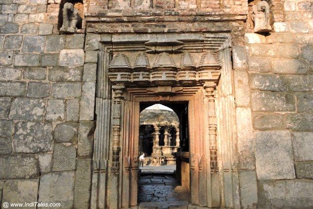 कोपेश्वर महादेव मंदिर का प्रवेश द्वार