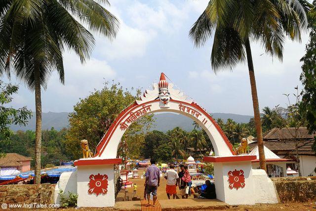 मल्लिकार्जुन मंदिर का मुख्य प्रवेश द्वार