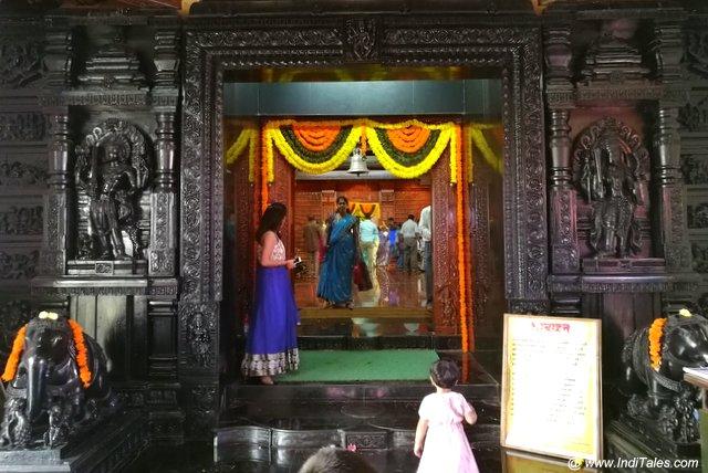 मल्लिकार्जुन मंदिर का मंडप