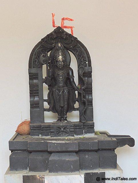 मल्लिकार्जुन मंदिर में भगवन परशुराम की प्रतिमा
