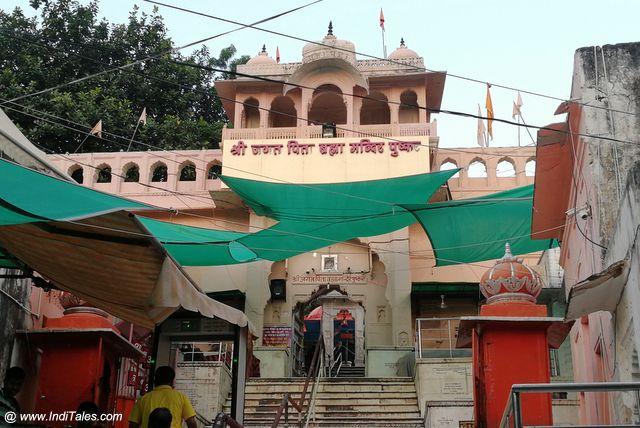 ब्रह्मा मंदिर का प्रवेश द्वार