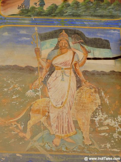 Mother India in the frescoes of Shekhawati