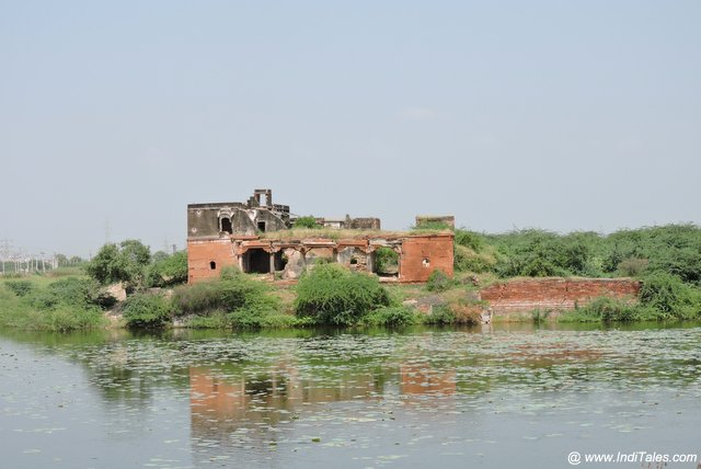 Remnants of fort of merta