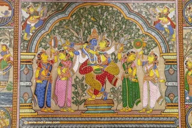 Radha Krishna Miniature