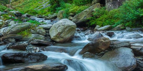 Stream of Bhagsu waterfalls