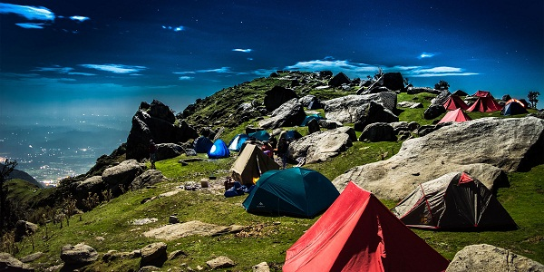 All adventurous trek of triund.