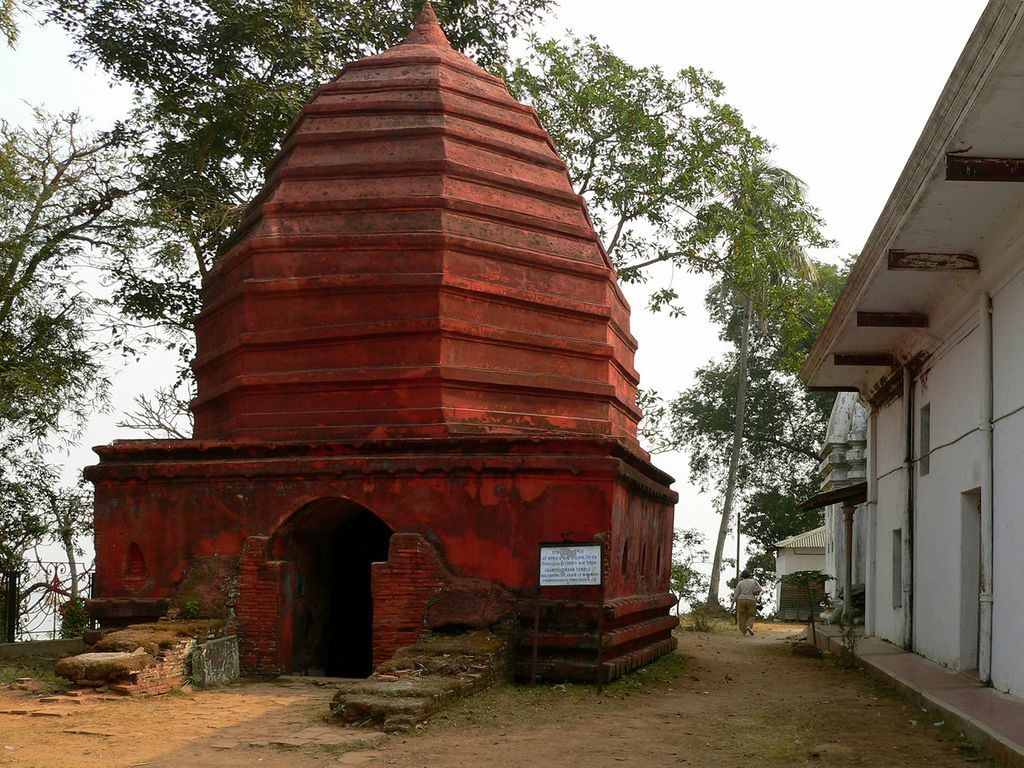Umananda Temple Assam Inditrip