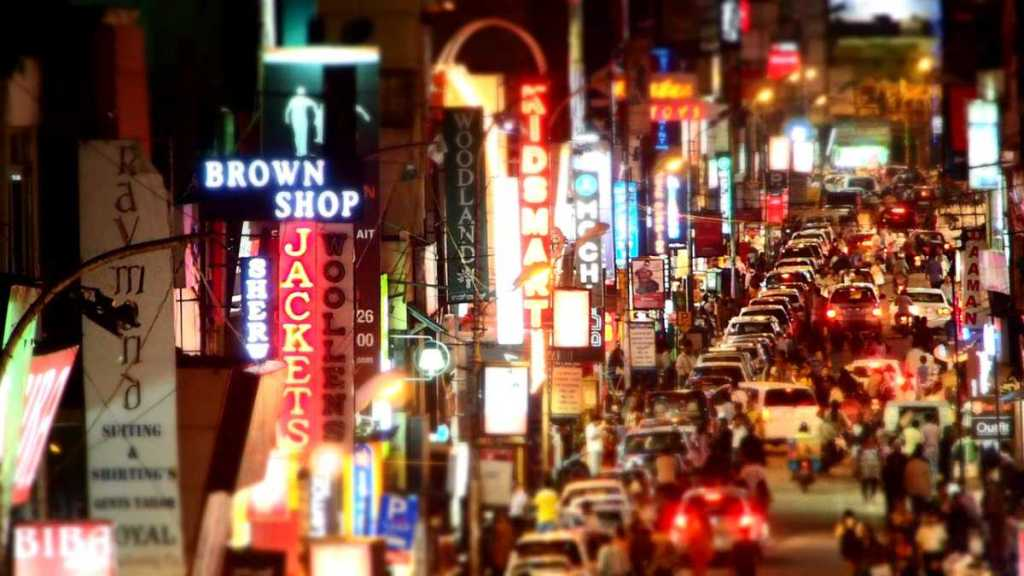 Commercial Street Bangalore Karnataka