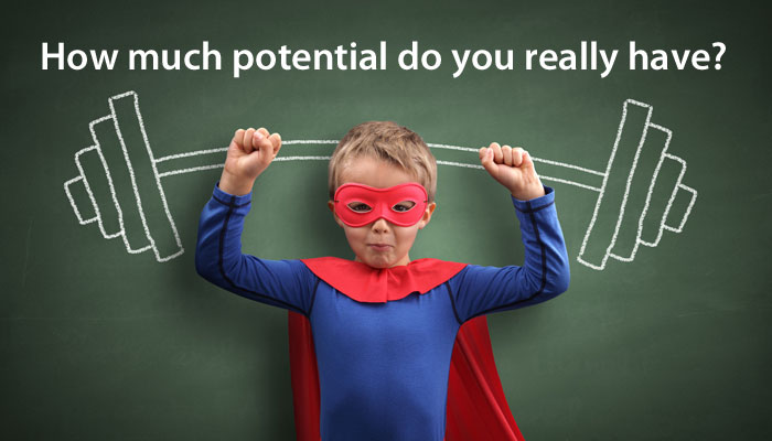 What if marketing companies made you aware of your potential instead of what you are not?