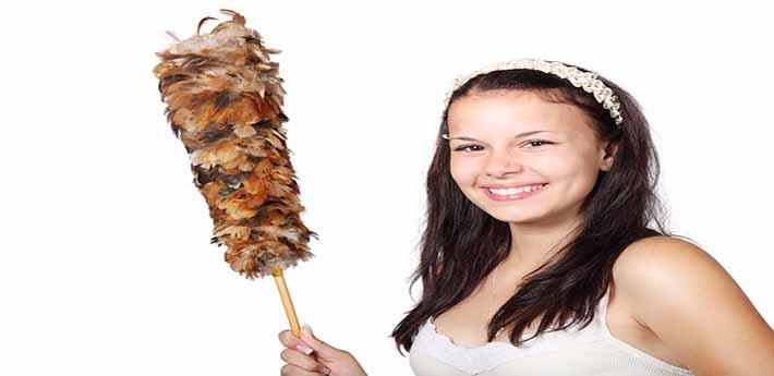 알레르기를 극복하는 청소