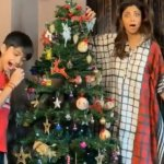 Shilpa Shetty and her son Viaan decorated their Christmas tree together.