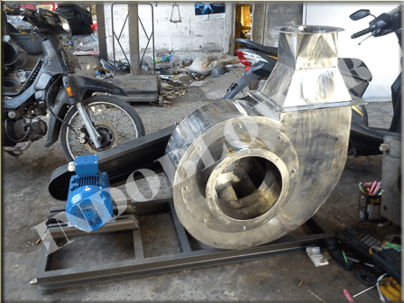 Centrifugal Backward Pulley