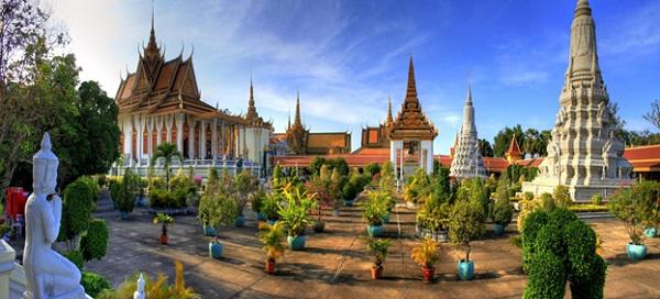 Bildergebnis für silver pagoda phnom penh