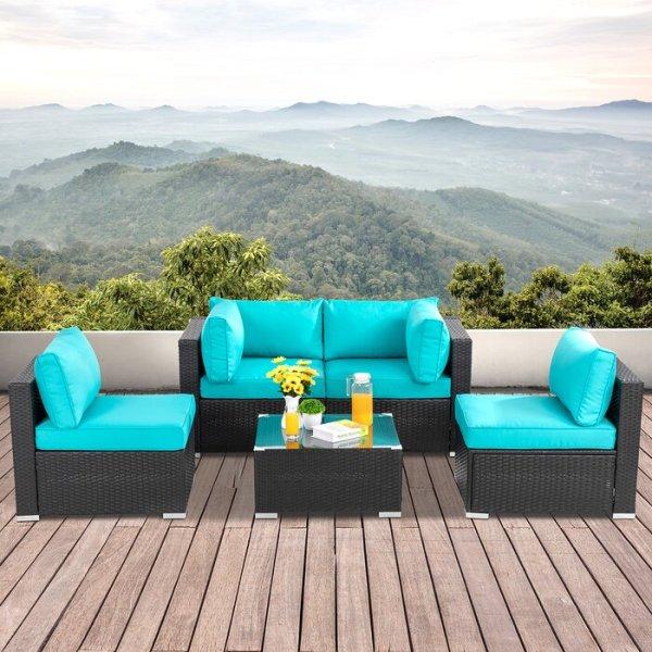 Sofa Rotan Azja Minimalis