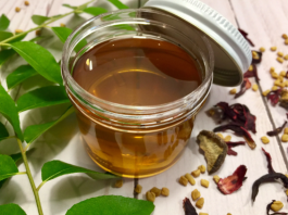 Scalp conditioning herbal oil by Geeta Seth