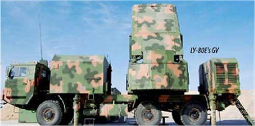 Radar tracking and guidance vehicle.