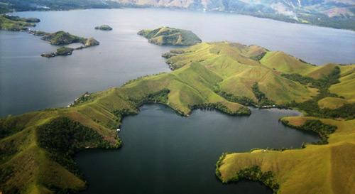 Sentani Lake In Sentani Lake