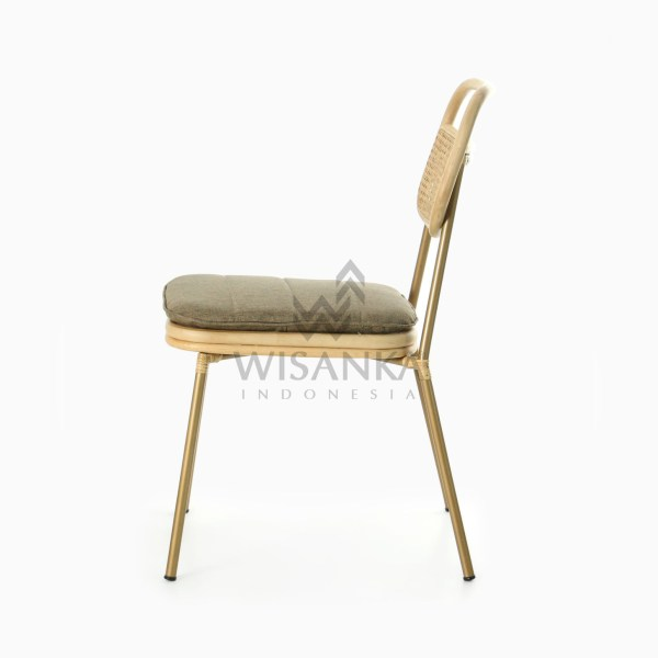 Akina Side Chair - Natural Rattan Wicker Furniture side