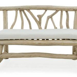 Dresden bench teak branch furniture