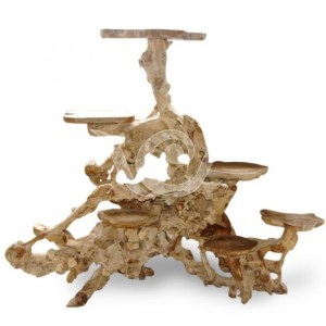 Teak Root Display A