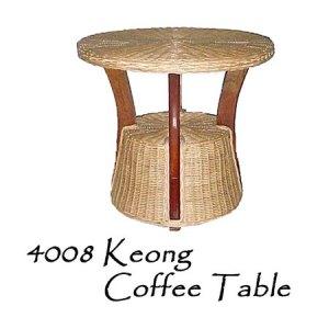 Keong Rattan Coffee Table