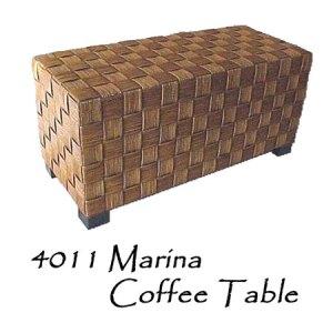 Marina Rattan Coffee Table
