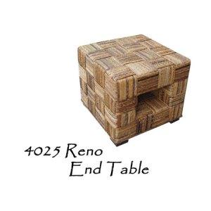 Reno Wicker End Table