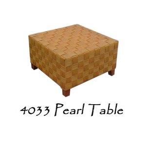 Pearl Rattan Table