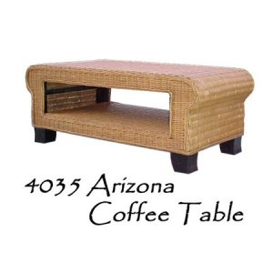 Arizona Rattan Coffee Table
