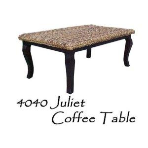 Juliet Wicker Coffee Table